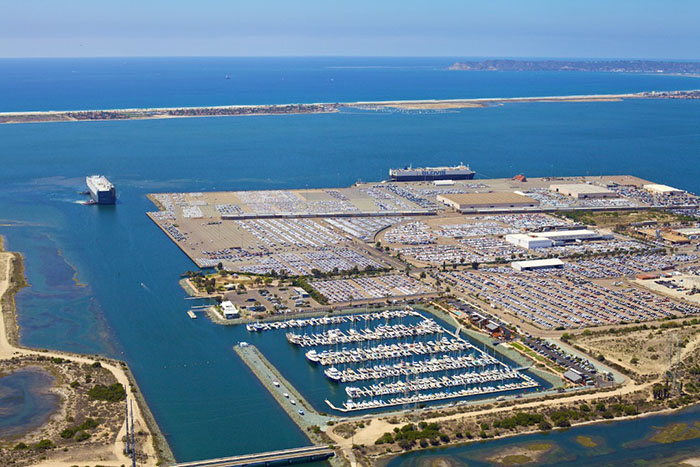Southern california auto ports face capacity constraints for Us motors san diego