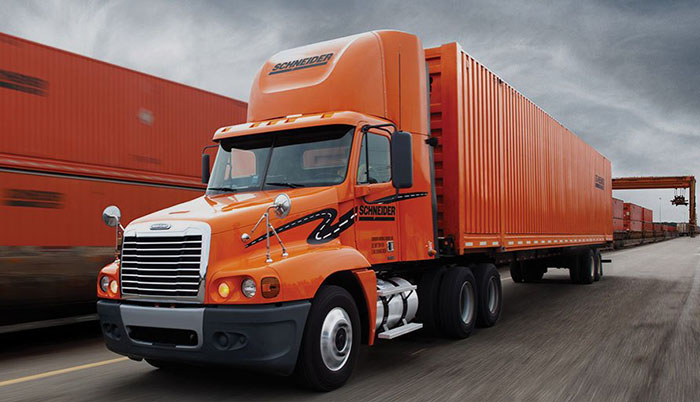 Schneider, largest private US trucking firm, launches IPO