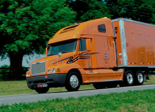 Schneider National is No. 2 in the JOC's ranking of the Top 25 Truckload Carriers in 2013.