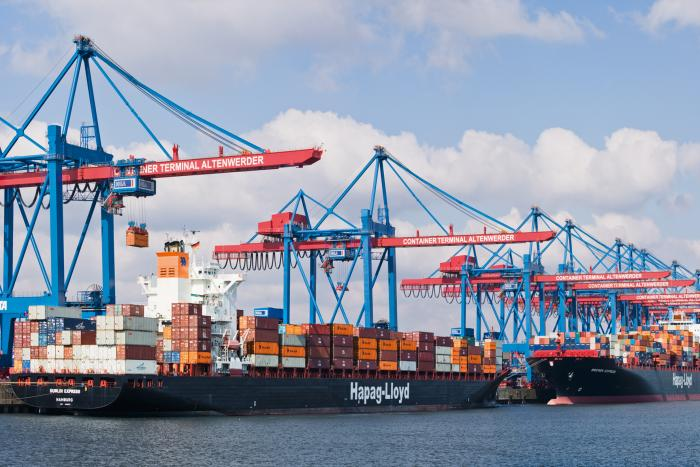 factory price watch super quality Hapag-Lloyd goes against global carriers' terminal-owning ...