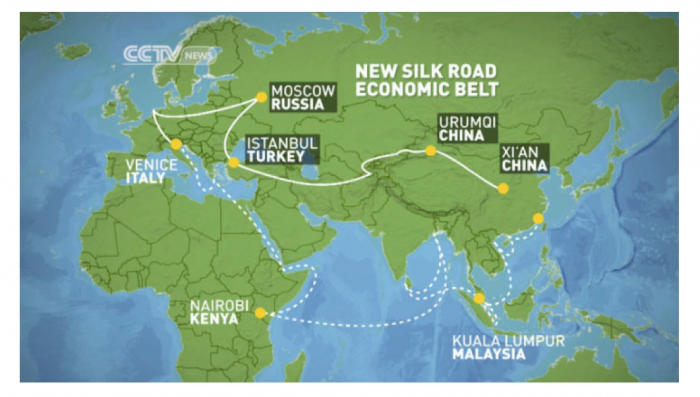So what is China's 'One Belt One Road' thing, anyway? | JOC.com