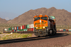 BNSF Intermodal Rail Car