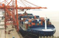 China's Ningbo port