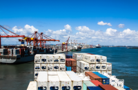 Dockworkers began a two-day strike Monday against DP World at the Australian port of Brisbane