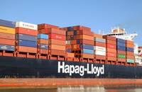 A Hapag-Lloyd ship.