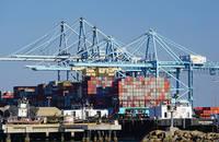 The ports of LA-LB.