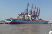 Maersk Line Adrian at APM Terminals Pipavav.