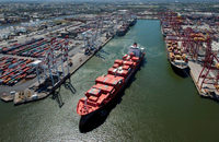 Lonsdale Consortium has won a bid to lease the Port of Melbourne, pictured, and must invest in the port as a condition of the deal.