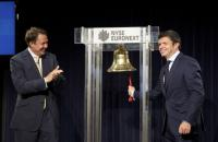 Norbert Dentressangle CEO Hervé Montjotin traveled to London to ring the opening bell for NYSE Euronext London.