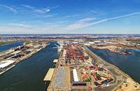 Port of New York and New Jersey Bayonne.