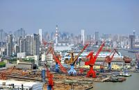 The Port of Shanghai.