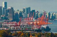 Port of Vancouver, Canada.