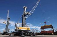 Cranes at the Port of Stockton