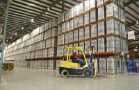 A busy warehousing operation in Mexico
