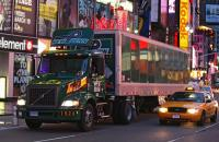 New Penn truck in New York City