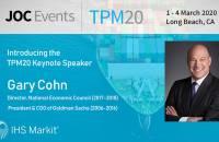 Gary Cohn, TPM20 Keynote Speaker
