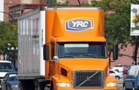 YRC truck.