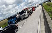 Brazil truckers on strike - May 2018.