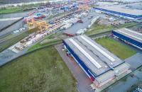 Duisburg port.