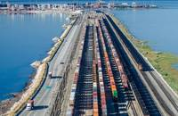 GCT Deltaport intermodal rail.