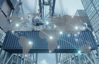 Global trade logistics technology.