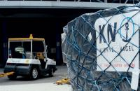 Kuehne & Nagel air freight handling at Hong Kong