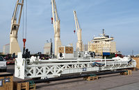 Breakbulk operations at the port of Houston, such as the one pictured, will soon take place under a new joint venture.