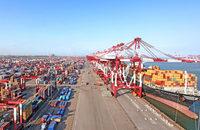 Cosco Pacific throughput China ports