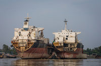 BIMCO increased its projection for the number of twenty-foot-equivalent units that ship scrapping would take out of circulation this year by 150,000.