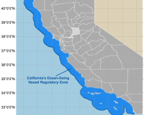 California's Ocean-Going Vessel Regulatory Zone