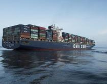 CMA CGM Vivaldi container ship