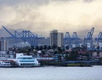 Central American ports such as Panama's Port of Colon are sending more containers to the United States.