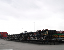 Chassis at the South Carolina Ports Authority.