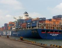 Chennai Port DP World terminal.