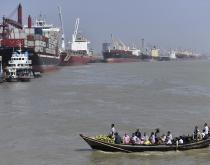 Chittagong Port.