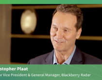 Sponsored: Blackberry Radar's Plaat on actionable data challenges