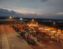 DP World Vallarpadam Container Transhipment Terminal at Cochin credit DP World Cochin 2