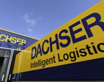 Dachser truck and warehouse
