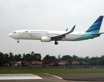 Garuda Indonesia plane in February 2013. Photo from Flickr by Prayitno. License: CC BY 2.0