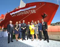 Christening of the new Hamburg Süd container ship Cap Corrientes.