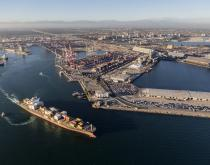 Port of Long Beach.