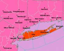 New York area inclement weather warnings