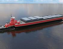 New England Marine Highway Project's articulated tug barge
