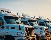 Penske Truck Leasing.