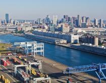 Port of Boston.