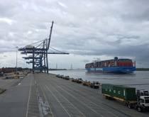 Port of Charleston, South Carolina.