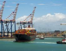 Port of Durban.