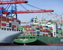 Port of Hamburg.