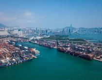 Port of Hong Kong.