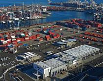 Port of Long Beach-Pierpass facility.